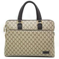 Wholesale 2015 New Fashion GG Men Messenger Bags Genuine Leather A Shoulder Men Handbag Business Casual Bag Men Briefcase