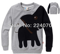 age elephant - Elephant pattern kids boy girls t shirt Sweatshirts Clothes child fleeces girls clothes suit ages years old