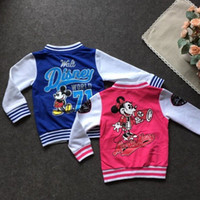 babies clothing store - LUCKY STORE sport suit top minnie outwear hot baby girls and boys moleton infantil kids clothes