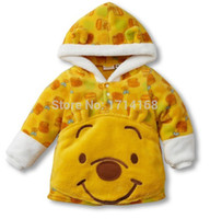 baby body warmers - Fleece Baby Coats Body Warmer Boy s Hoodies Sweatshirts Kids Jersey Cartoon Children s Coat Drop Shipping