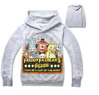 Wholesale hoodies for boys clothes five nights at freddy s t shirt kids t shirts with freddie costume full long sleeve winter shirt