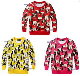 Wholesale spring amp autumn New Arrival Hot girls fashion windbreaker jacket export kids clothes Minnie mouse baby
