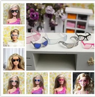 doll accessories - New Arrival Glasses sunglasses wind mirror doll accessories For Barbie doll Kurhn Doll