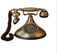 antique style telephone - all metal material Very good collection Mona Lisa Classical Antique telephone europe style phone