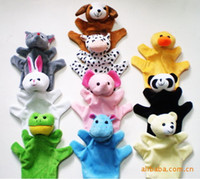 Cheap baby toy Hand Puppet Animals Hands doll dolls puppets for sale happy family designer kids finger toys reborn babies juguetes