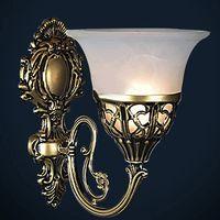 Wholesale European antique wrought iron wall lights hallway living room bedroom hallway wall lights LED Bulb