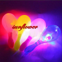party maracas - LED Maracas Flashing Light Up Shake Toy Cheering Party Concert