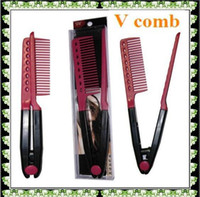 keratin treatment - Fashion Beauty Hair Item Brazilian keratin treatment Grip Straightening V Comb NIB Fix Messy Hair