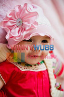 Wholesale Top Baby Cotton Baby Beanie Hat Flowers Hat Baby Toddler s Hats Girls or Boy s Hat Caps