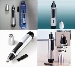 Wholesale Brand new Nose Ear Hair Facial Trimmer Shaver Clipper Cleaner