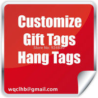 Wholesale Professional customized Hang Tag High quality stylish Gift Tag Clothing tTgs jewelry Tags
