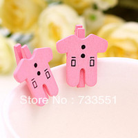 baby quilt photos - cm Mini baby cloth Button wooden Clips star baby Cute photo paper clips Decorative Tools