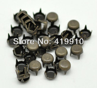 antique rivet clothing - Antique Bronze Round Dome Rivet Studs Spots mm Bag Leather Clothes M00050
