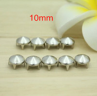 metal claw spikes - Silver Dome Metal Rivet Spike Stud mm Round Claws For DIY Bags Belt Leathercraft Cellphone Case Deco