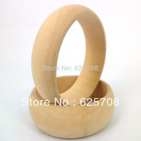 wooden bangles - Good Raw Wooden Bangle Bracelet For DIY Painting Craft SMT