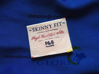 Cheap Wholesale-cotton printed labels for clothing free shipping