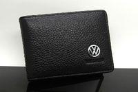 advanced drives - Genuine Leather Driving License Bag wallet purse Volkswagen Beetle Polo Golf gitar Bora Tiguan Passat Advanced Toureg Scirocco