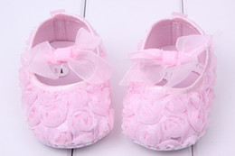 Baby Girls Shoes Rose Flower Soft Sole Shoes Toddler Cotton Shoes Princess Shoes New baby first walker