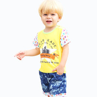 apparels for kids - Boys Denim Clothing Sets For Summer Style New Kids Apparels Boy Clothing Set Baby Boys piece Sets T shirts Shorts