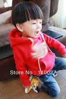 baby girl topcoat - 2015 baby hoodies with drawsting fashion cotton sweatershirts kids long sleeve pullover coat topcoats boy girl outwear