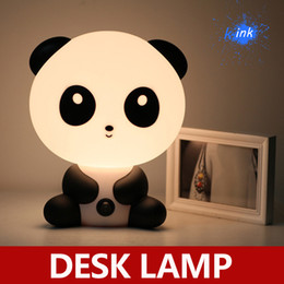 ABS Lovely Kungfu Panda Desk Lamp Table Lamp Cartoon Night Light for bedroom decoration, Birthday Gifts