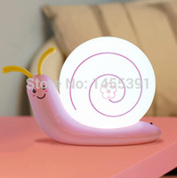 baby warming plate - Snail Table Lamp Light LED Energy Saving Night Light Bed Lighting Baby Lamp Decoration Table Lamp