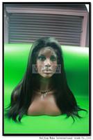 multi-colored asian hair highlights - 100 human hair full lace wig inch b highlight yaki straight Medium Density