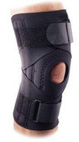 Wholesale 6034 Ligament Knee Support sleeves BLACK
