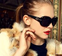 achat en gros de canal concepteur de marque-Femmes Lunettes de soleil de conduite Diamant 2015 Luxury Brand Designer soleil Glass Eye Regarder cette chaîne Points Mirror Lunettes Lunettes Fashion
