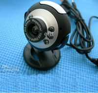 Wholesale 12 microsoft Webcam Web Cam Camera mic led light