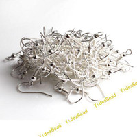 Wholesale 2500pcs Silver Tone Charms Earring Hook Fit earring Jrwelry Accessories DIY