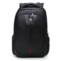 Cheap Quality Black Nylon Waterproof Backpack Preppy School for Men Laptop Notebook 15.6 Inch Large Capacity Cheap Sale ISO9001.2008