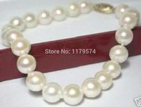 akoya pearl beads - Fashion all match girl Charming mm Genuine Akoya White Pearl Bracelet quot beads jewelry making AAA YS0285
