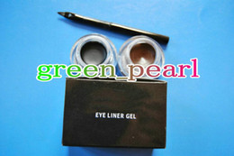Wholesale Free Gift NEW EYELINER GEL BLACK AND BROWN G