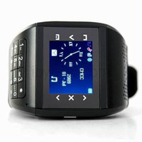 Wholesale Promotion Unlocked Inch Cellphone Mobile Q8 With Bluetooth Headset Dual Sim Dual Standby Quad Band Touch Screen Camera Watch Wrist Phone