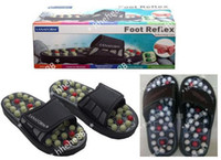 Wholesale Newest FOOT REFLEX health massage slippers shoes with spring foot sandals pair