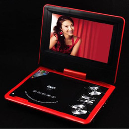"Wholesale - 7"" Portable DVD EVD TV Player video DVD with retail box"