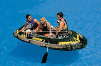 Wholesale Inflatable boat Boats fishing boat canoe INTEX Sea Hawk boats B2
