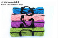 Wholesale Hot sale New popular Portable Color Yoga Mat Bag yoga backpack for health beautity sports