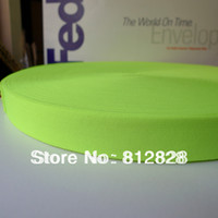 elastic tape for underwear - 50 Yards quot Solid Neon Green Elastic Tape For Underwear