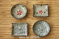 Wholesale On sale China Jingdezhen ceramic dish dish of soy sauce seasoning dishes sushi dishes small plate