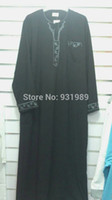 muslim clothing for men - muslim abaya men s robe abaya in dubai kaftan jilbabs and abayas muslim dress islamic clothing for men black abaya