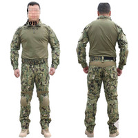 Cheap Wholesale-NEW Emerson Gen2 Combat uniform Tactical gear shirt and pants Army BDU set (Marpat Woodland) Free Shipping