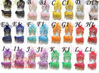 Wholesale colors COINS BELLY DANCE HIP SCARF WRAP SKIRT Waistband for KID children