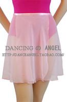 Wholesale Adult Women Chiffon Ballet Tutu Skirt Dance Skate Wrap Scarf Leotards Colors Two Sizes