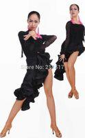 belly dancing suits - Female Ballroom dancing dress adult Fishbone Latin skirt costume suit professional dress Bullfighting tango salsa skirts set