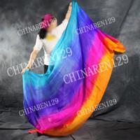 Wholesale BELLY DANCE SILK VEILS M M VEIL M M five colors veils