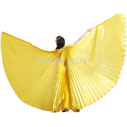 Wholesale Colors Egyptian Egypt Opening Isis Wings Professional Performing Asa Ballroom Dresses Girls no stick