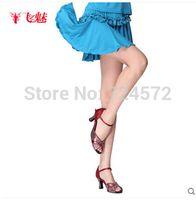 Cheap Wholesale-Latin dance skirt square dance short skirt car laciness Latin short skirt safety pants latin dance dress costumes for skirt
