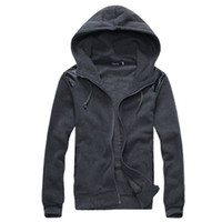 best warm hoodies - Hot Sale Cheap Hoodies Zipper Brand Men s Jackets Best Quality Mens Warm Coat Mens Hooded Cotton New Mens Jacket Zip Hoodie